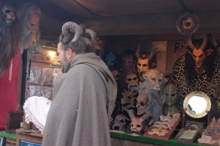 Christmas market in Provins